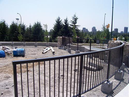 Landscape railing for the Dayanee Park Project