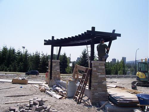 Installing the arbor